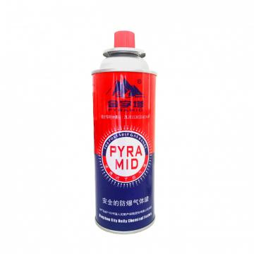 Round Shape Portable butane gas Butane Gas Bottles