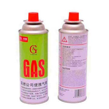 Round Shape Portable butane gas cartridge can for portable gas stove with CRV