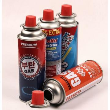 China Supplier Household Butane Gas Cartridge For Camping