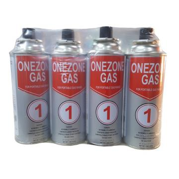 220g slim Portable Butane Gas Cartridge Aerosol Tin Can with Valves