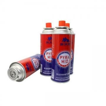 220g/190g/227g Aerosol Tin Can Metal Tin Can for Butane Gas